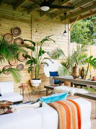 West Elm Tillary Sofa Slipcover by A Shabby Patio Becomes An Outdoor Living Room Front Main