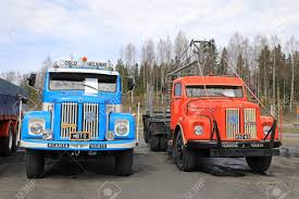 LAUKAA, FINLAND - MAY 19, 2017: Two Classic Conventional Scania ... 1977 Ford F250 With 351 Cleveland Antique Truck Club Of America Trucks Classic Chevrolet Classic Trucks Pinterest Central Florida Posts Facebook My Garage Central Its All About The Cars 5779 Ford Trucks 8 Holiday Moments Red Vintage Hauling A Frosted Tree Fire Station Lexington Department Exterior At Parade South Power About 1974 Dodge Wagon W100 4x4 1935 Gateway St Louis 6573 Now Booking Wedding Season 2018 Give Tap Coast Road Cuba September 06 2015 Amazing Editorial