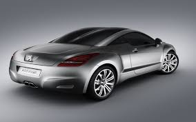 Peugeot 308 RCZ Rear and Side Wallpaper Peugeot Cars Wallpapers in