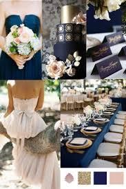 Wedding Theme Navy Gold Antique Blush Vintage Styler