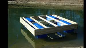 12x12 Floating Deck Plans by Floating Dock In Progress Youtube