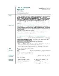 Resume For Nurses Applying Abroad Curriculum Vitae Sample Template Word Nursing Registered Nurse Standard School Application