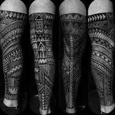 Kingofbones With This Hashtag Free Hand Tribal Leg Sleeve Timeless Tattoo