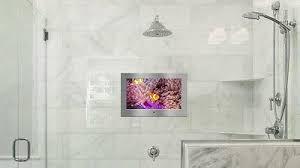 badezimmer bad tv fernseher 18 5 22 32 zoll edelstahl glas spiegel wasserdicht ebay