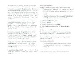 Translator Resume Resumes Regarding Sample