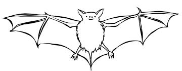 Bat Coloring Pages 2