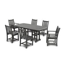Wayfair Patio Dining Chairs by Polywood Patio Dining Sets Wayfair