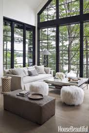 Crate And Barrel Verano Sofa Smoke by Elevated High Above The Water This Lake Cottage Feels Like A