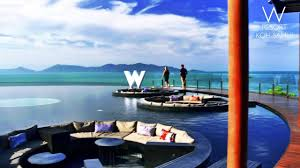 100 W Hotel Koh Samui Thailand Retreat Infomercial Full Screen YouTube