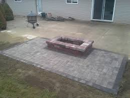 Fire Pits Design : Magnificent Concrete Patio Fire Pit Large Fire ... Stone Texture Stamped Concrete Patio Poured Stamped Concrete Patio Coming Off Of A Simple Deck Just Needs Fresh Finest Cost Of A Stained 4952 Best In Style Driveway Driveways And Patios Amazing Walmart Fniture With To Pour Backyards Cement Backyard Ideas Pictures Pergola Awesome Old Home Design And Beauteous Dawndalto Decor Different Outstanding Polished Designs For Wm Pics On Mesmerizing