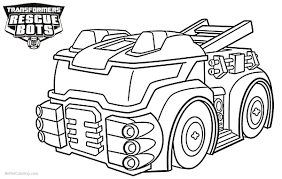 Printable Rescue Bots Coloring Pages - Eskayalitim