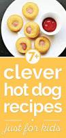 Halloween Hotdog Fingers Recipe by 7 Fun Dog Recipes Just For Kids Thegoodstuff