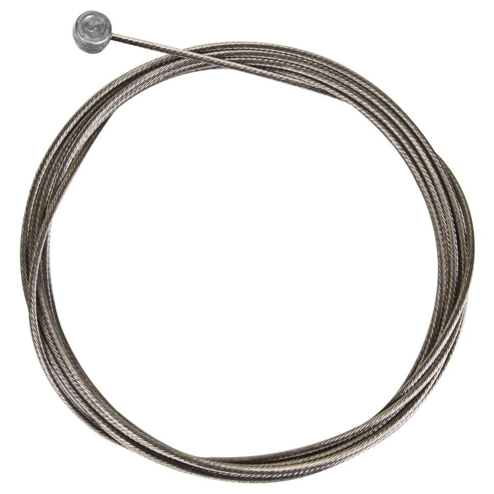 Shimano Stainless Mountain Brake Cable - Silver, 1.6 X 2050mm