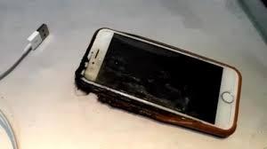 Mid flight ruckus iPhone 6 bursts into flame