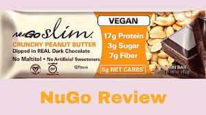 NuGo Slim Vegan Protein Bar Review