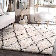 de home teppich wohnzimmer creme weiß weich groß