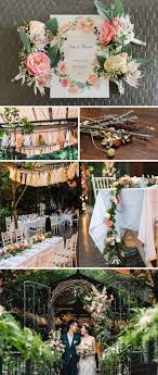 Wedding Themes Singapore Rustic Floral Wedrock Onethreeonefour