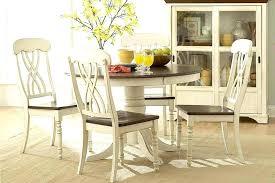 Round Farmhouse Table Farm Chairs Plans