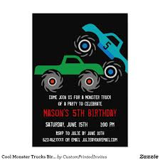 Cool Monster Trucks Birthday Party Invitations | Monster Truck Party ... Monster Truck Party Printables Set Birthday By Amandas Parties Invitation In 2018 Brocks First Birthday Invite Car Etsy Fire Invitations Tonka Envelopes Engine Online Novel Concept Designs Jam Free British Decorations Supplies Canada Open A The Rays Paxtons 3rd Party Trucks 1st 2nd 4th Ticket Iron On Blaze And The Machines Baby Shark Song Printable P