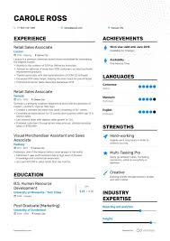 8+ Retail Sales Associate Resume Samples And Writing Guide Sales Associate Skills List Tunuredminico Merchandise Associate Resume Sample Rumes How To Write A Perfect Sales Examples For Your 20 Job Application Lead Samples And Templates Visualcv Of Template Entry Level Objective Summary For Marketing Description Skills Resume Examples Support Guide 12