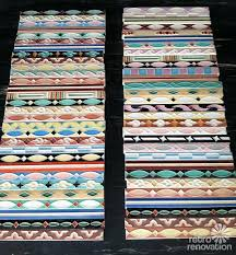 where to get painted bathroom liner tiles 33 vintage
