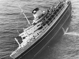 Cruise Ship Sinking Now by The Sinking Of The Ss Andrea Doria Witnify