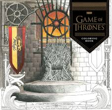 Official HBO Game Of Thrones Coloring Book Coming From Chronicle