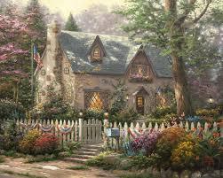 Liberty Lane Cottage – Limited Edition Art
