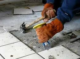 how to remove your wall or floor tiles