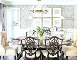 Dining Room Wallpaper Ideas Unique Splendid Decorating For The At How A