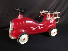 100 Antique Fire Truck Pedal Car Radio Flyer Fire Truck Pedal Car Frodofullringco