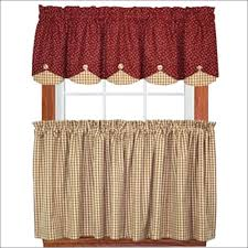 Amazon Red Kitchen Curtains by Amazon Curtains Sale Medium Size Of Kitchen Country Valances And