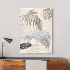 palmblätter silber ii