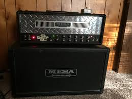 Mesa Boogie Cabinet 2x12 by Sold Mesa Boogie Dual Rectifier Solo Head And 2x12 Cab The