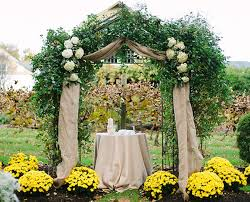 In Some Rustic Or Countryside Area A Simple But Stunning Wedding Altar Can Be Created By Using Twigs And Branches As Gazebo Decorate It Further