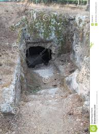 100 Shmaryahu An Ancient Burial Caves Kfar Israel Stock Photo Image