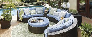 Hampton Bay Outdoor Furniture Covers by Patio Curved Patio Furniture Home Designs Ideas