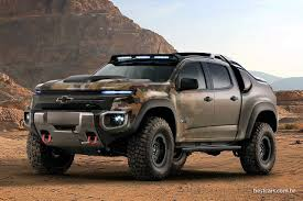 """Chevrolet Colorado ZH2 é """"S10"""" Militar A Hidrogênio 