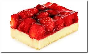 erdbeer kuchen mit pudding