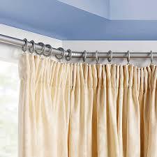 Rod Desyne Curtain Rod Ceiling Brackets by Bay Window Rods Modern Curtain Rods For Bay Windows With