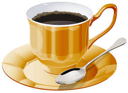 Yellow Cup Of Coffee PNG Clipart