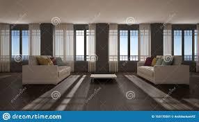 offener raum mit sofa innenausstattung modernes wohnzimmer