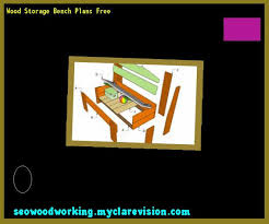 wood storage bench plans free 171117 woodworking plans and