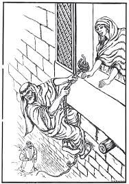 Bible Coloring Pages Sheets Crafts Judges Ss Colouring