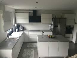 küche beton optik weiß hochglanz küche beton moderne