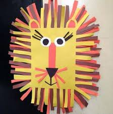 Forest Animal Crafts Paper Cup Lion Craft Ideas Bulletin Board For Preschoolers Animals