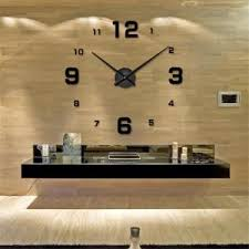 Horloge Mural 3d Achat Vente Pas Cher Horloge Salon Achat Vente Pas Cher