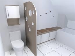separation salle de bain salle de bain et wc separation baignoire chaios 8 ob c84321
