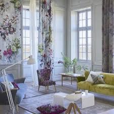 designers guild stoffe vorhänge und möbel kombiniert