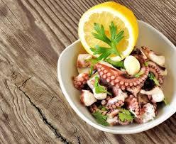 cuisiner poulpe frais salade de poulpe recette de salade de poulpe marmiton